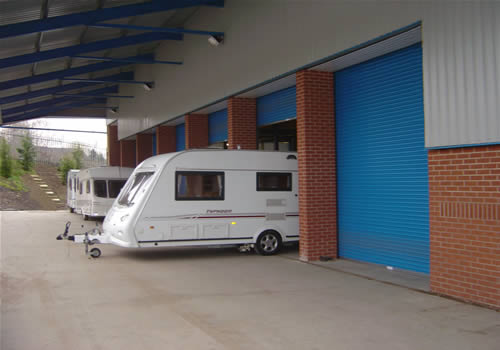 Caravan and Motorhome Workshop Bays