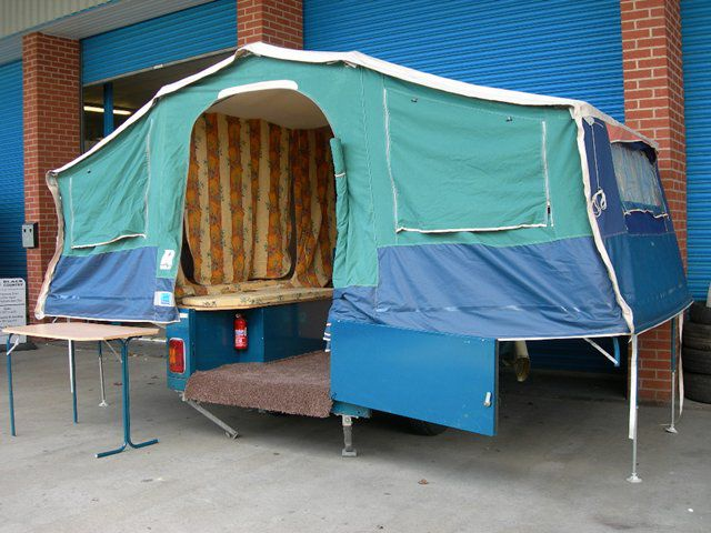 2002 Raclet Quickstop Used Trailer Tent